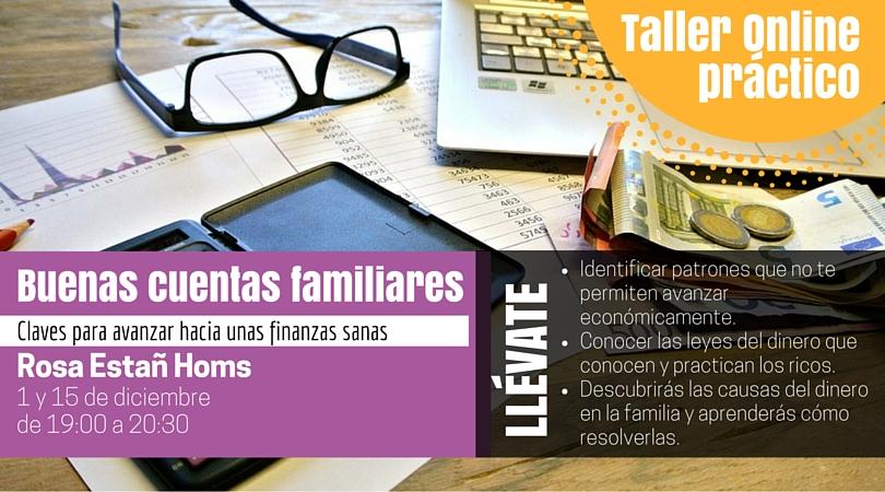 Curso Buenas Cuentas familiares