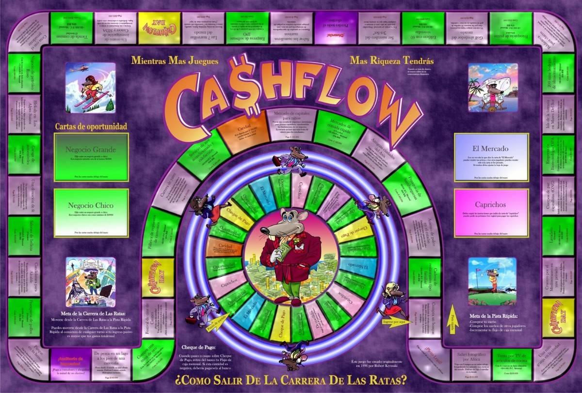 Aprender Las Reglas Del Dinero Jugando Al Juego De Cash Flow