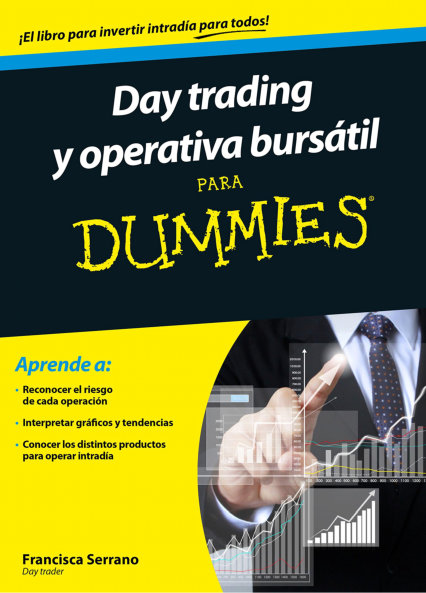 Book Cover: Day trading y operativa bursátil para dummies
